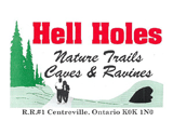 Hell Holes Nature Trails & Caves Logo