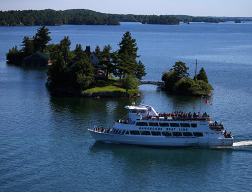 take a boat cruise on the May long weekend