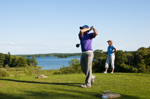 golf in kingston, prince edward county, bay of quinte, cornwall
