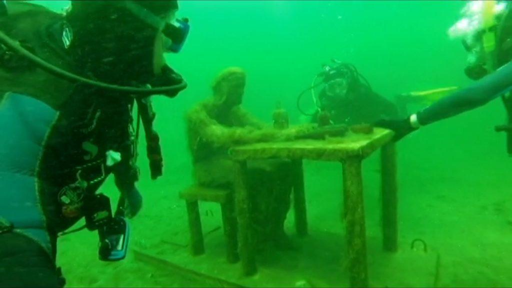 New sculptures are often added to Brockville's Underwater Sculpture Park. (Flickr Creative Commons)