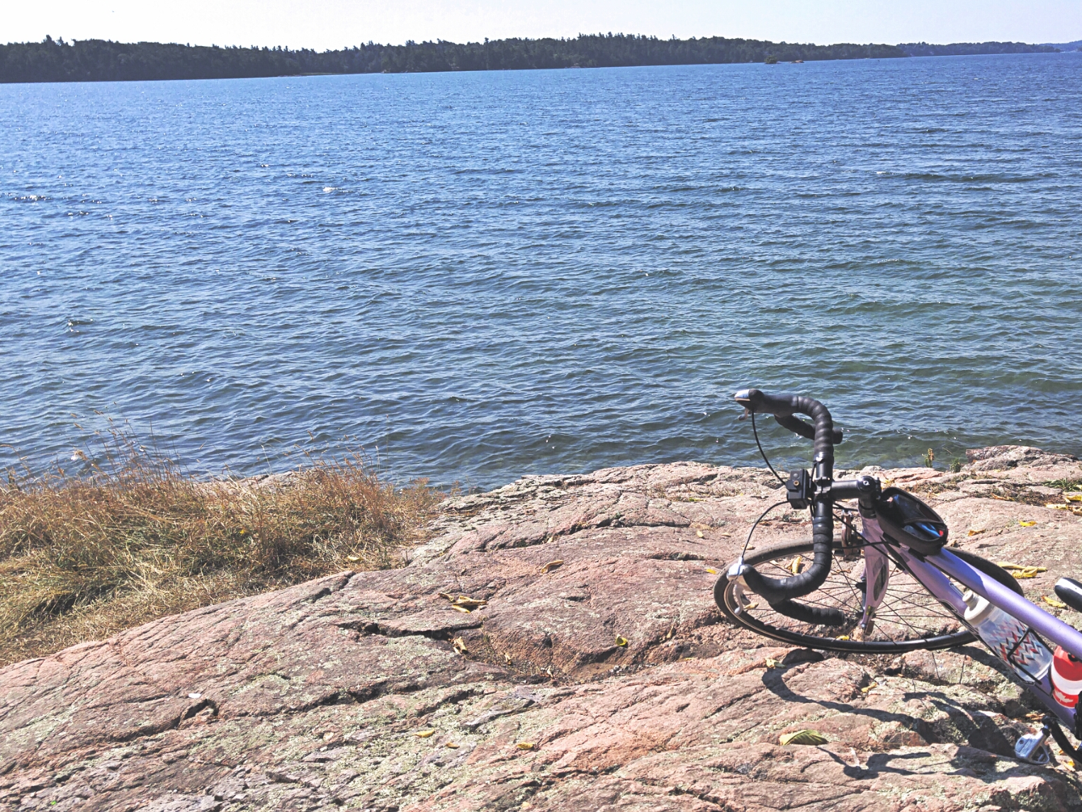 cycling 1000 islands halsteads bay ontario